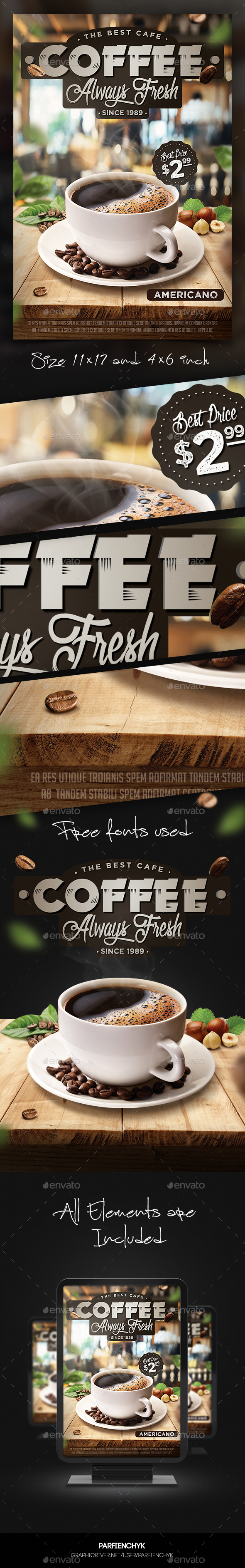 Coffee Flyer Template - Restaurant Flyers