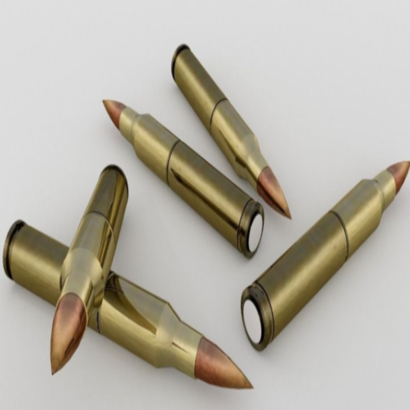 Brass Bullets - 3DOcean Item for Sale