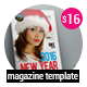 New Year Magazine Template 22 Page - GraphicRiver Item for Sale