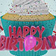 Happy Birthday Cup Cake - VideoHive Item for Sale