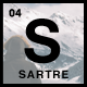 Sartre - Creative Multipurpose HTML Template - ThemeForest Item for Sale