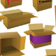 boxes pack. 7 vector boxes - GraphicRiver Item for Sale