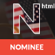 Nominee - Template for Candidate/Political Leader - ThemeForest Item for Sale