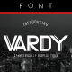 Vardy Display Typeface - GraphicRiver Item for Sale