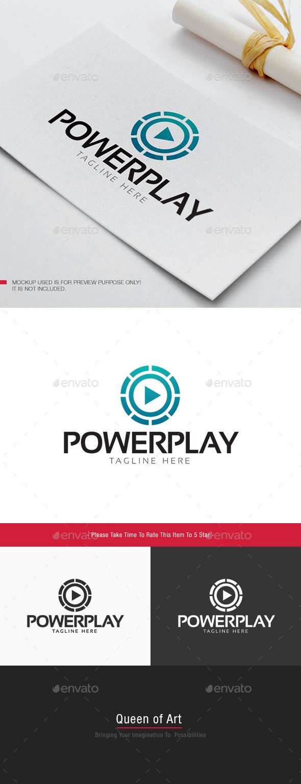 Power Play Logo - Objects Logo Templates