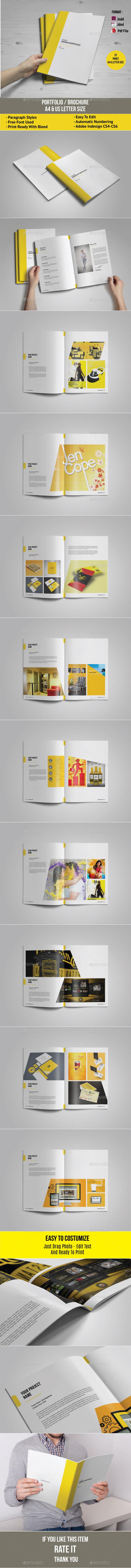Multipurpose Portfolio / Brochure - Portfolio Brochures