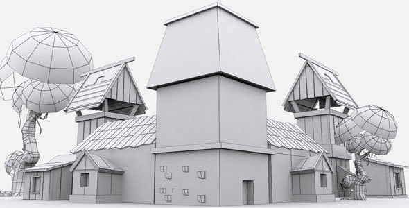 Low Poly Asset 1 - 3DOcean Item for Sale