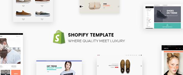 Banner shopify theme