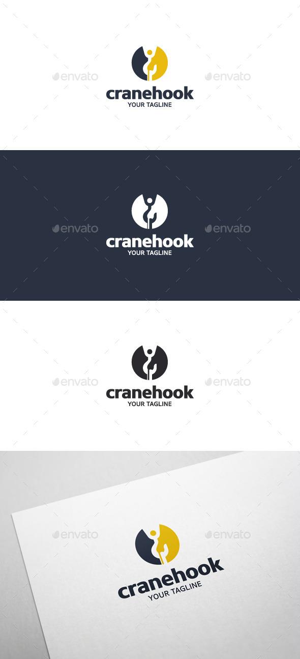 Crane Hook - Logo Template - Objects Logo Templates