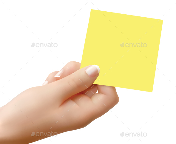 Post-It - Backgrounds Decorative