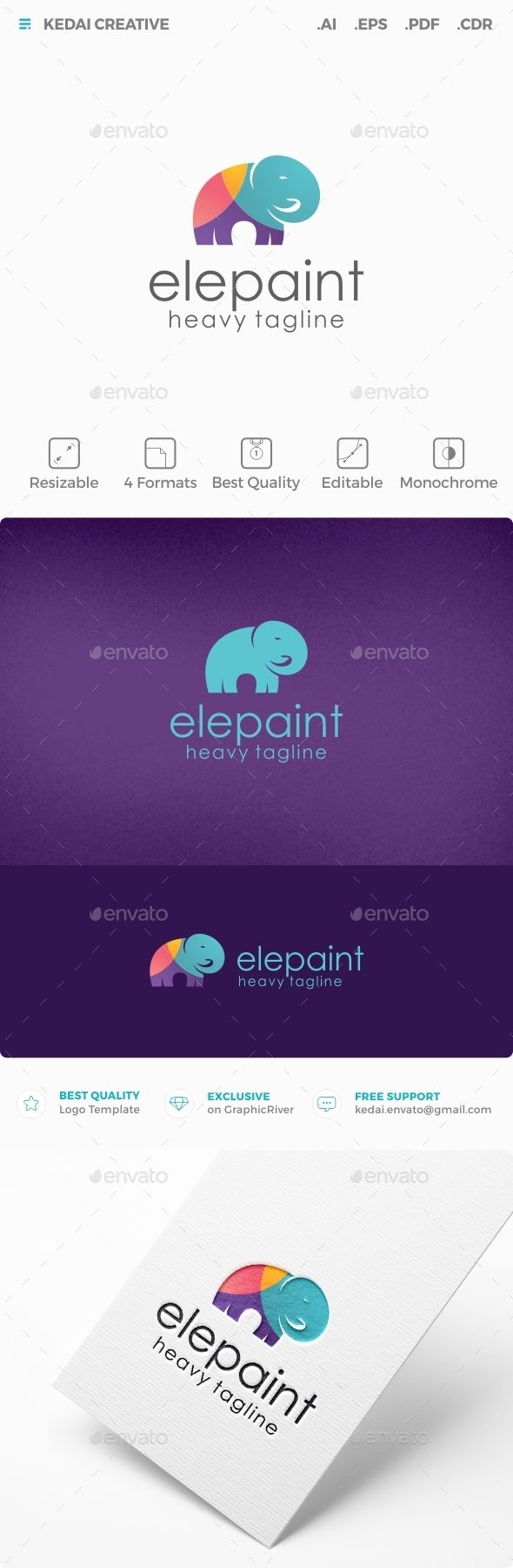Elepaint - Animals Logo Templates