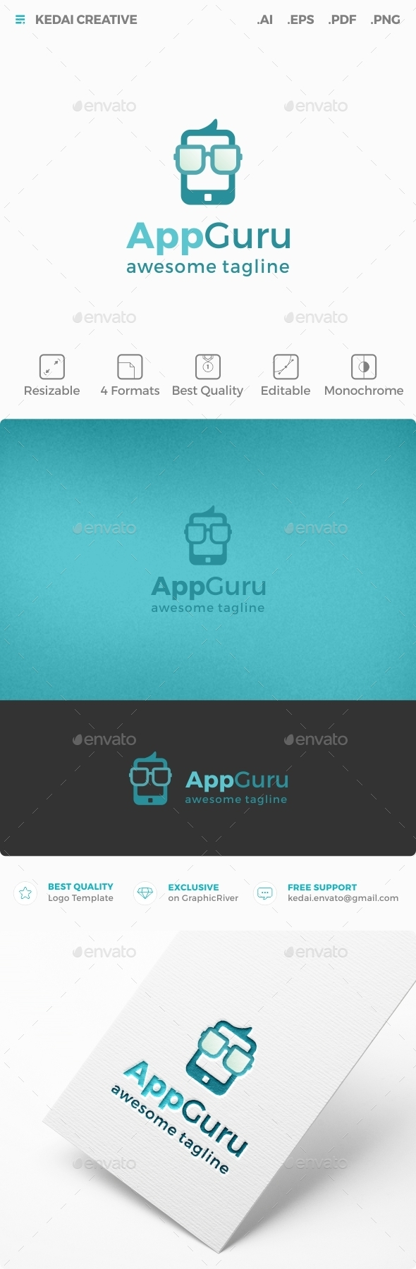 App Guru - Symbols Logo Templates