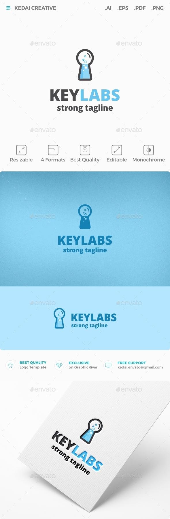 Key Labs - Symbols Logo Templates