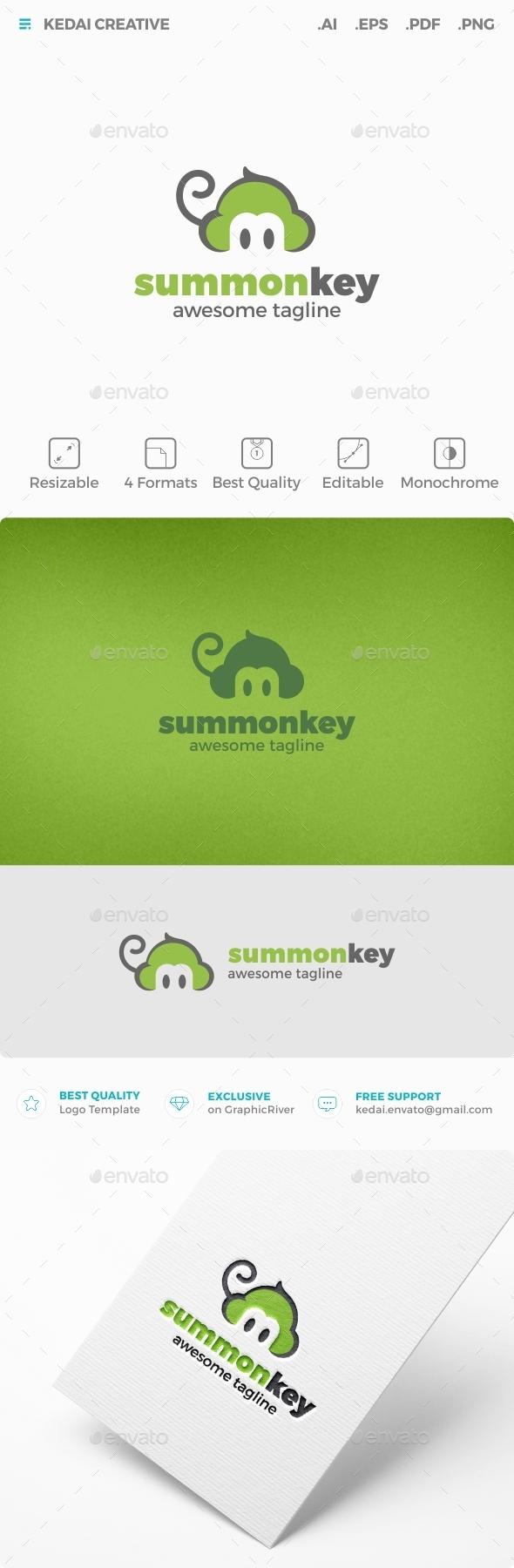 Summonkey - Animals Logo Templates