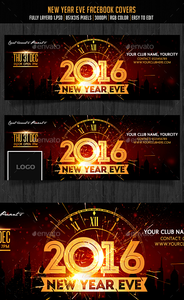 New Year Eve Facebook Cover - Facebook Timeline Covers Social Media
