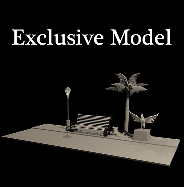 Complete Model - 3DOcean Item for Sale