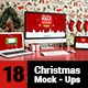 18 Christmas Mockups - GraphicRiver Item for Sale