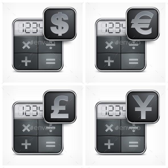 Calculator Icons - Miscellaneous Vectors
