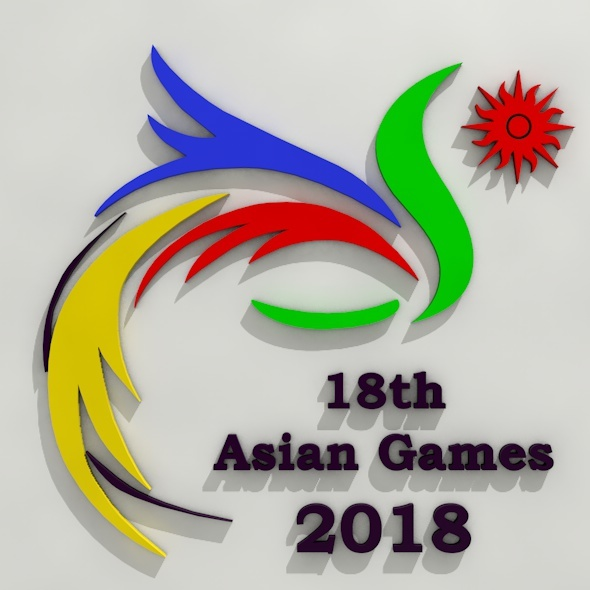 Asian Games 2018 Jakarta - 3DOcean Item for Sale