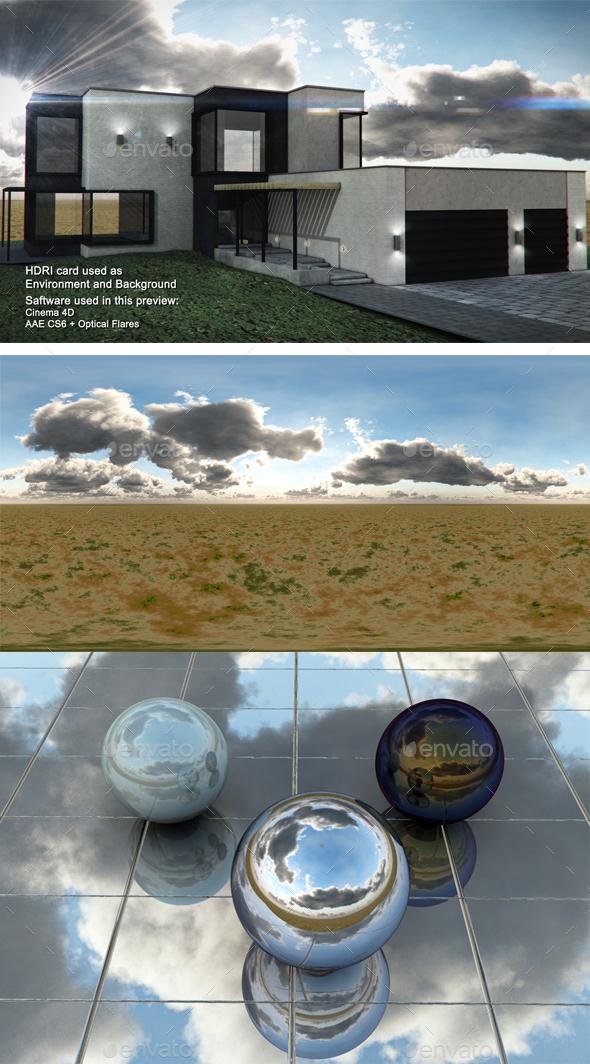 Dusk Desert 12 - 3DOcean Item for Sale
