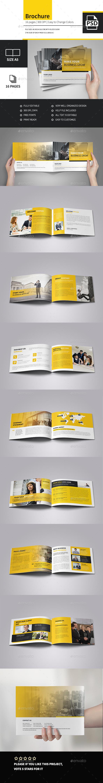 Minimal Corporate Multipurpose Business Brochure - Corporate Brochures