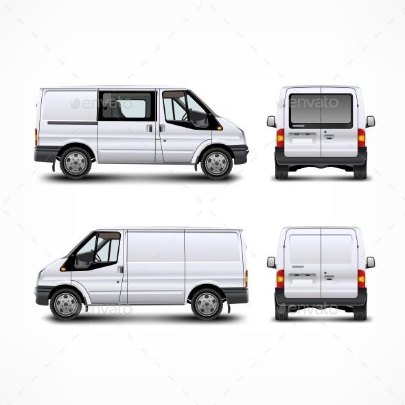 Minivan  - Miscellaneous Vectors
