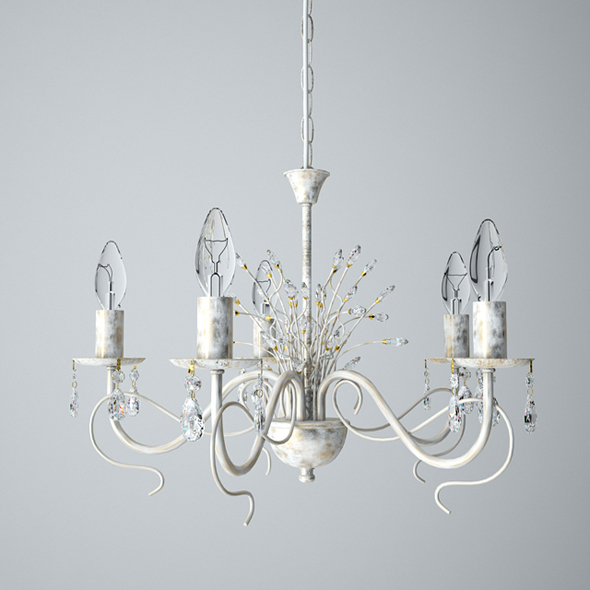 Vitaluce V1391/5 Chandelier - 3DOcean Item for Sale