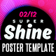 Super Shine Poster Template - GraphicRiver Item for Sale