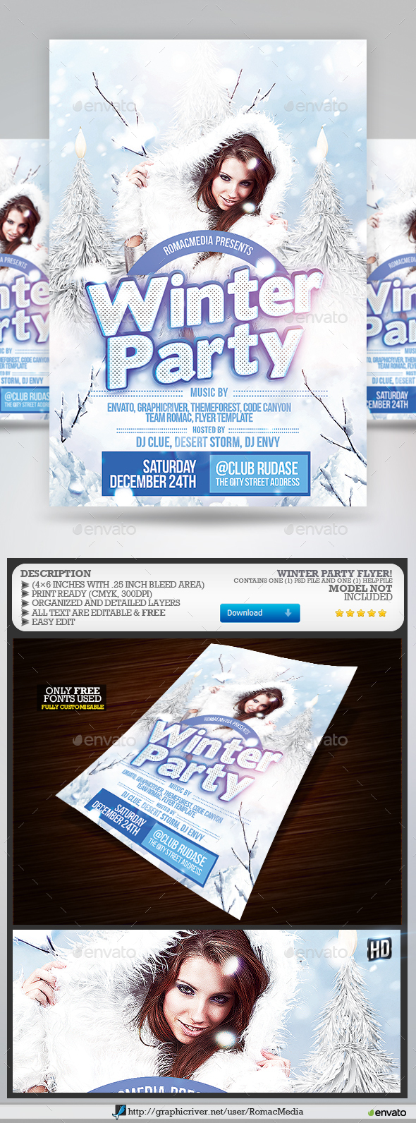 Winter Party - Clubs & Parties Events