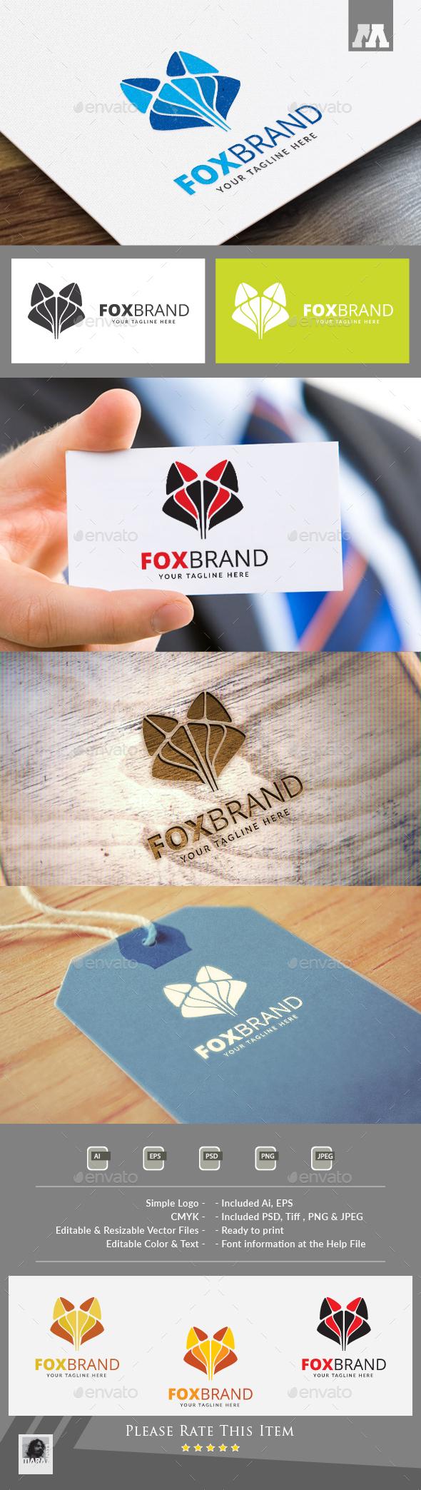 Fox Brand Logo - Abstract Logo Templates
