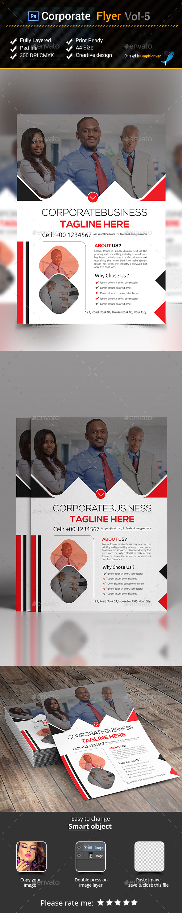 Corporate Flyer Vol- 5 - Corporate Flyers