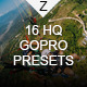 16 HQ GoPro Presets - GraphicRiver Item for Sale