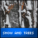 Snow and Trees - VideoHive Item for Sale