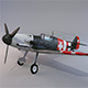 Messerschmitt bf-109 - 3DOcean Item for Sale