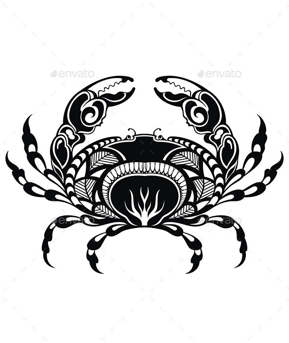 Crab - Decorative Symbols Decorative