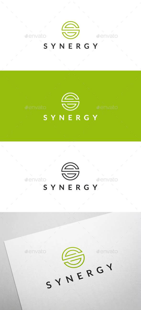 Synergy - Logo Template - Letters Logo Templates