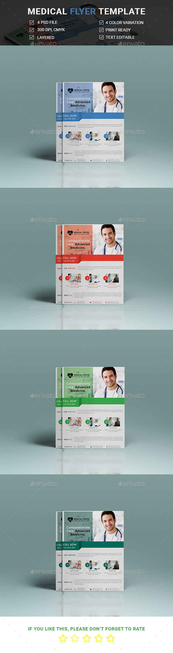 Madical Flyer Template - Corporate Flyers