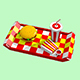 Low poly FastFood - 3DOcean Item for Sale