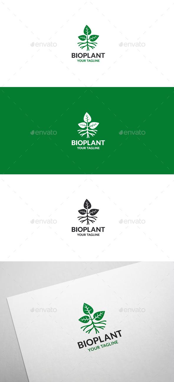 Bio Plant - Logo Template - Nature Logo Templates