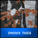 Snowy Twig - VideoHive Item for Sale