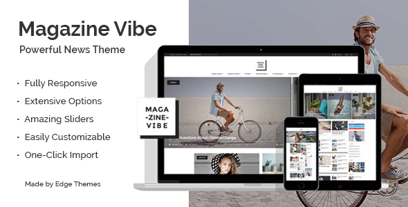 Magazine Vibe - A Powerful News & Magazine Theme - News / Editorial Blog / Magazine