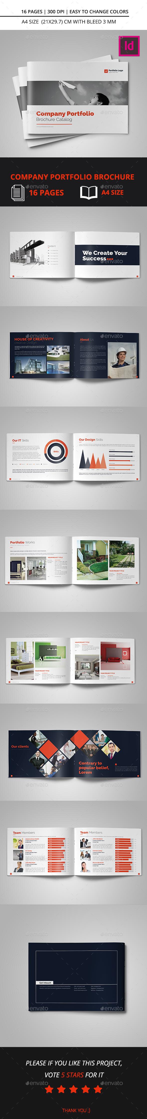 Company Portfolio Brochure Catalog 2016 - Catalogs Brochures