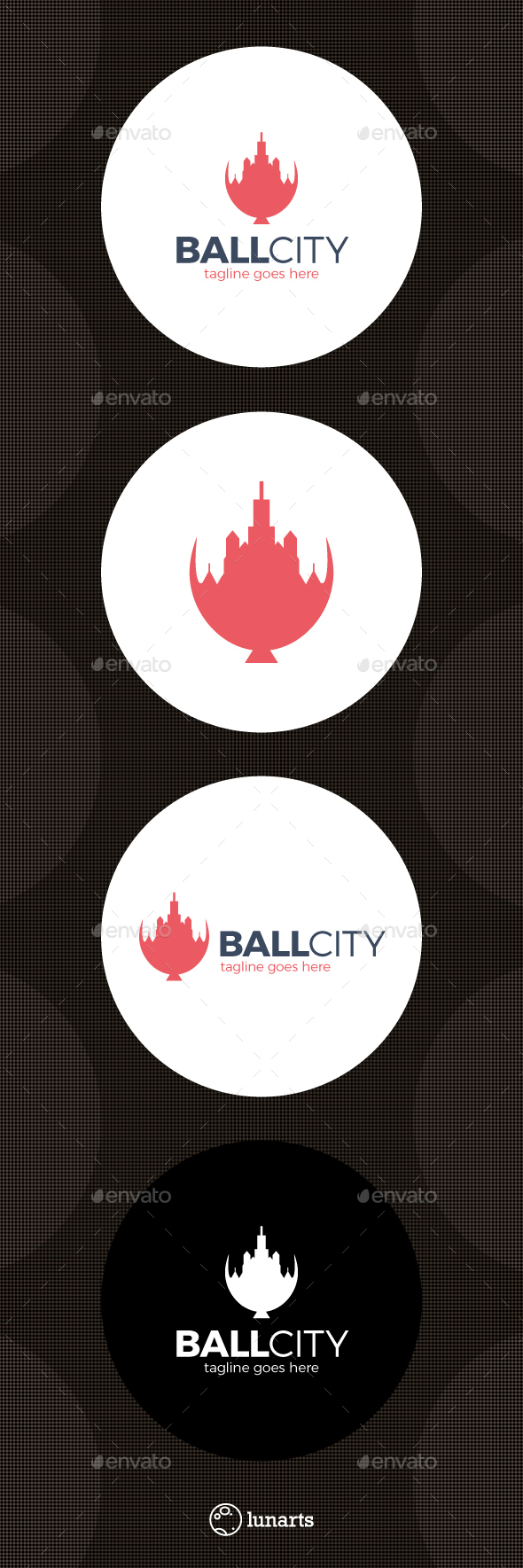 Balloon City Logo - Symbols Logo Templates