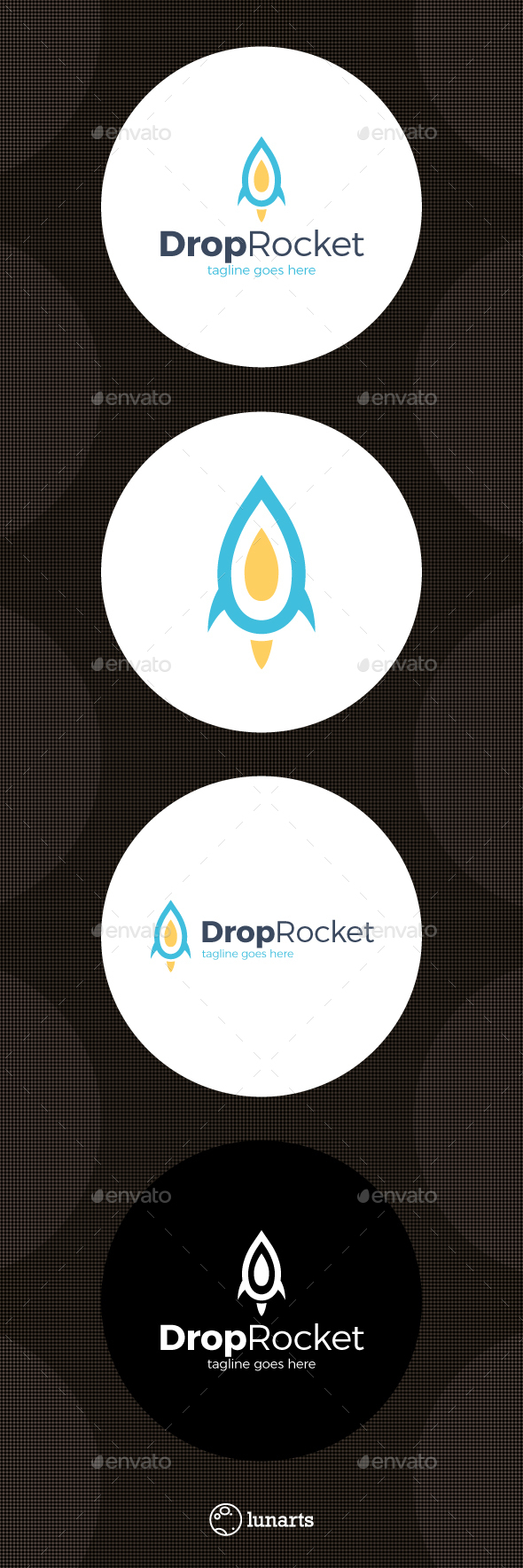 Drop Rocket Logo