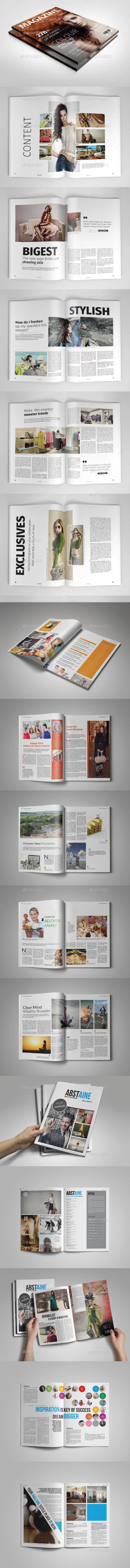 Magazine Bundle Vol. 03 - Magazines Print Templates