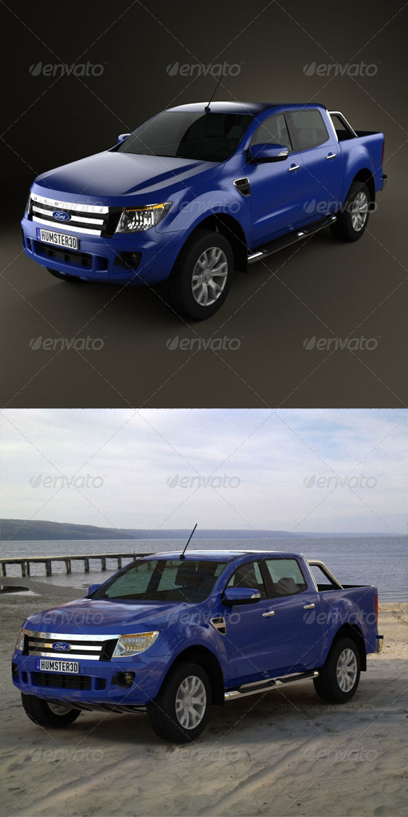 Ford Ranger 2011 - 3DOcean Item for Sale