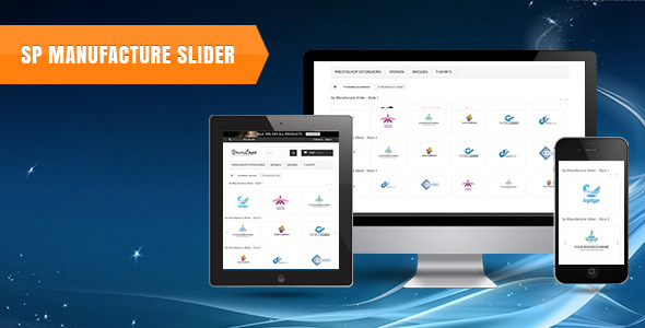 SP Manufacture Slider -  Prestashop Module - CodeCanyon Item for Sale