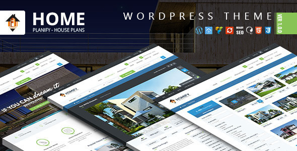 Home Planify – WordPress Real Estate Theme