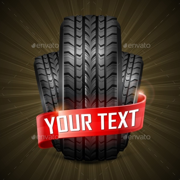 Rubber Tires  - Miscellaneous Vectors
