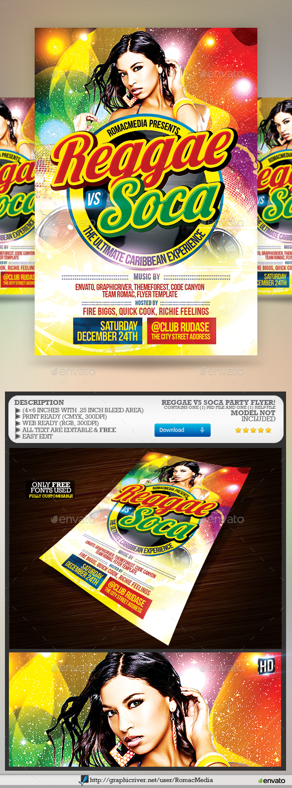 Reggae and Soca Vibes - Clubs & Parties Events